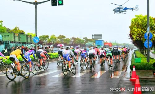环崇明岛自行车赛(图文)