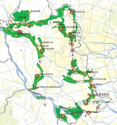 佛山绿道地图