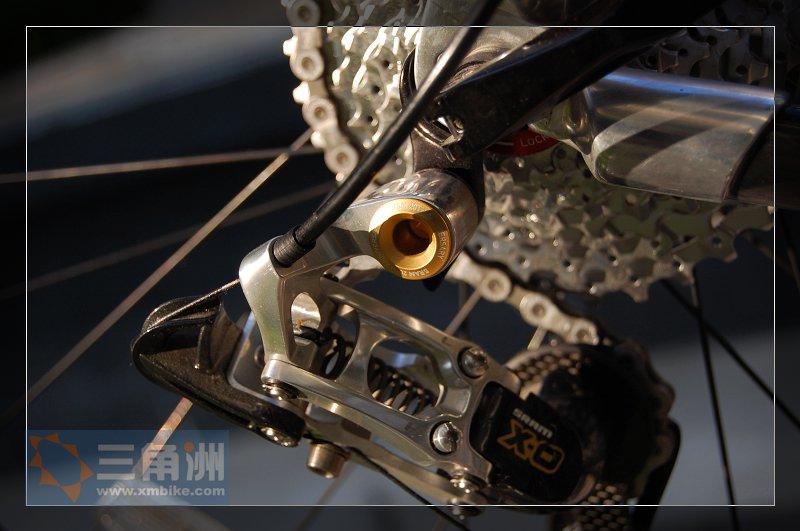 自行车后拨安装图解