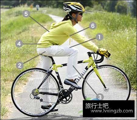 骑车有讲究 自行车骑行姿势指南
