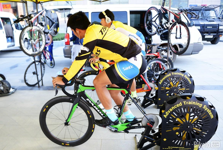 自行车,热身,冷身