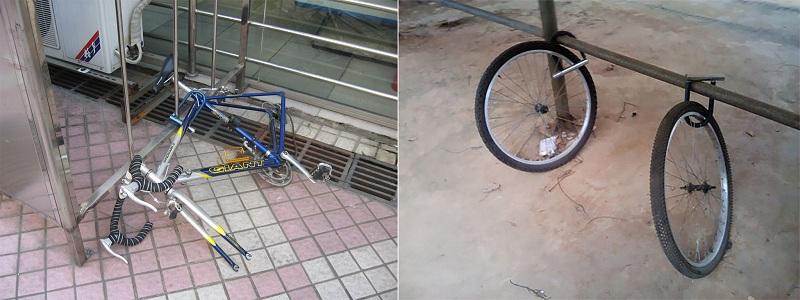 自行车锁,创意设计,防盗,经验图片