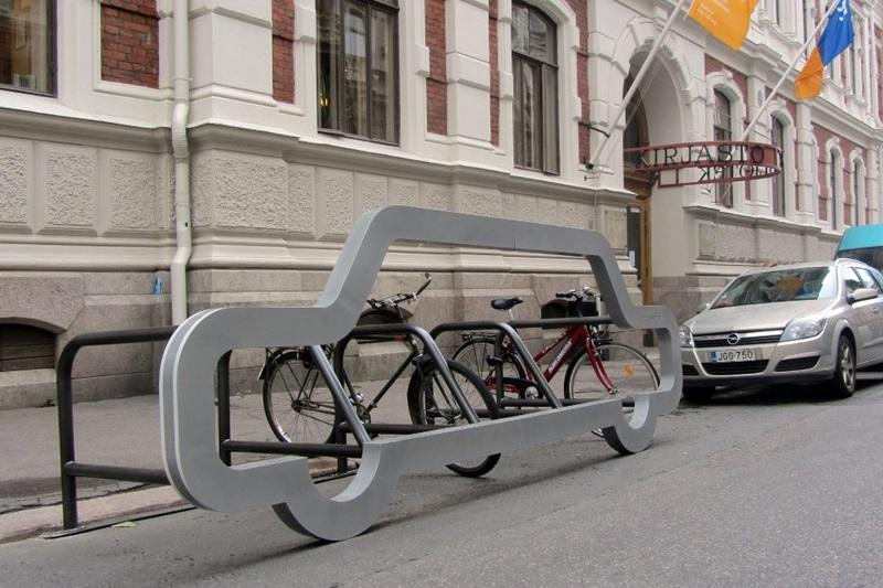 公共停车架