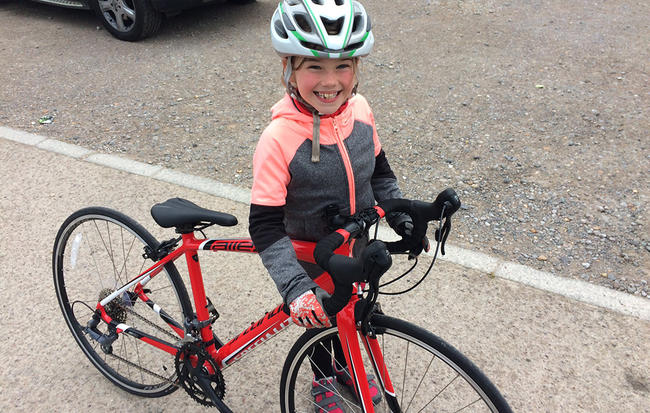 美骑-9岁小车手艾萨克的骑行建议