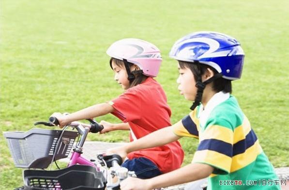 孩子骑车,头盔,孩子安全