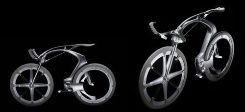无链条传动概念自行车(图文)