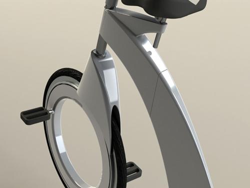 创意设计:折叠概念自行车(图文)