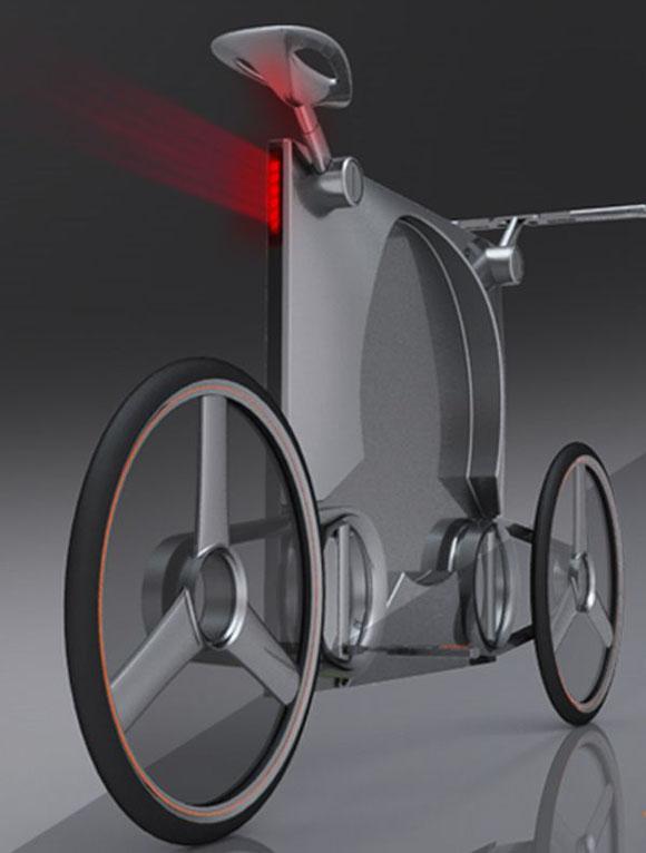 自行车的内部结构设计也很节能