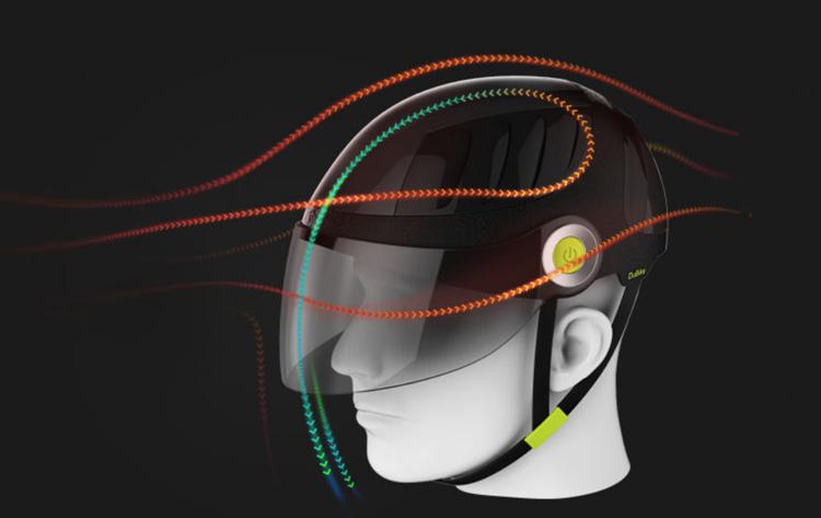 百度正研发抗雾霾骑行智能头盔|头盔 - 美骑网