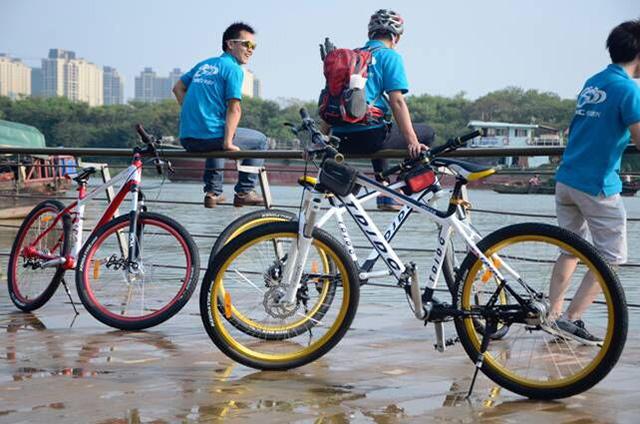 传动轴自行车