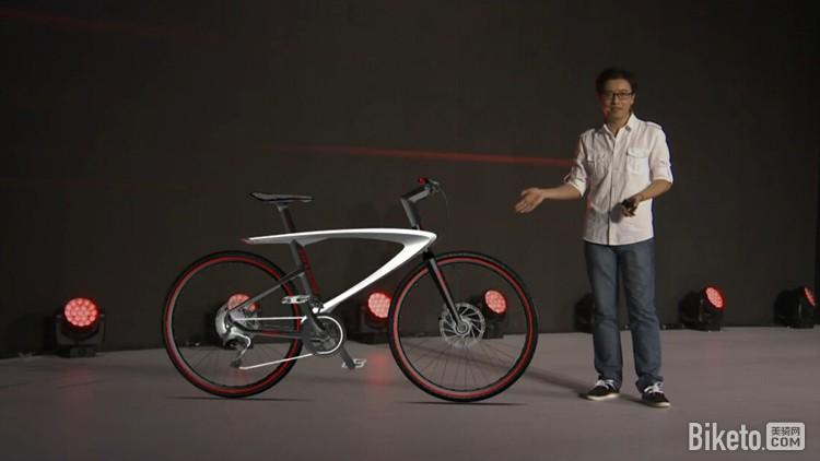 自行车;全新的外观设计