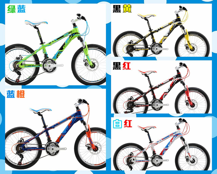 camp坎普自行车新品儿童山地车:蜂鸟系列