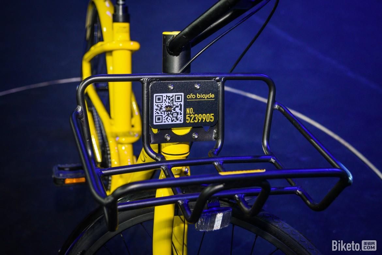 另外,ofo curve配备了收纳车筐,方便用户放置随身包.图片