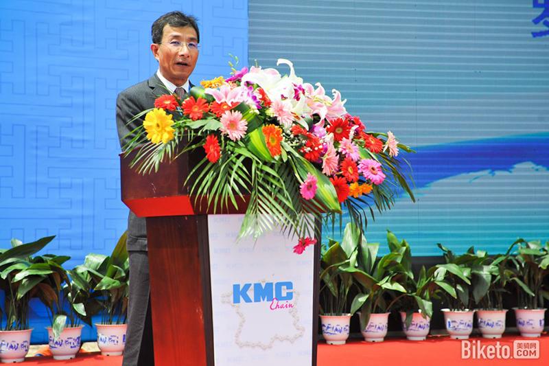 全球最大链条供应商KMC的总经理吴盈进先生