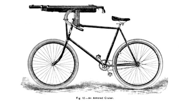 机枪自行车