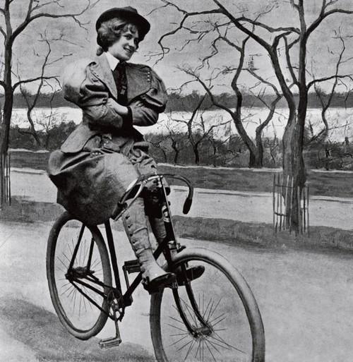 """方便骑行的""""灯笼裤""""在妇女中越来越流行"""