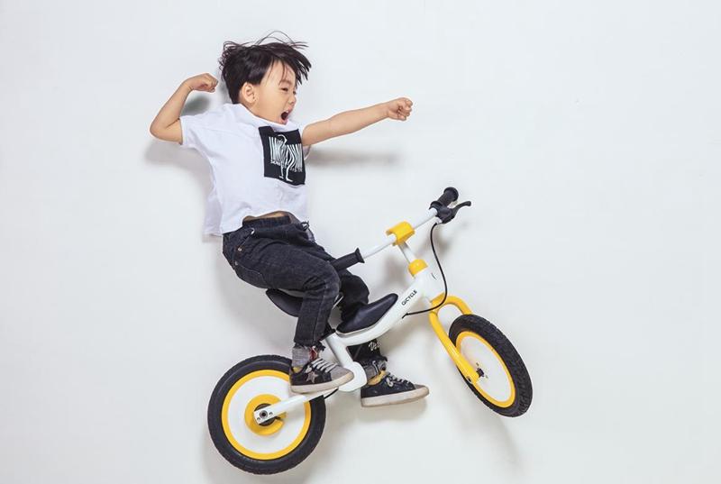 骑记骑滑两用童车