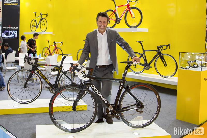Pinarello全球CEO Fausto Pinarello