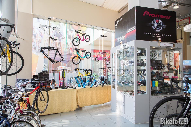 SYB兴升阳,昇陽,台南旗舰店,iBIKE展示中心,自行车店,SCOTT,ARGON18