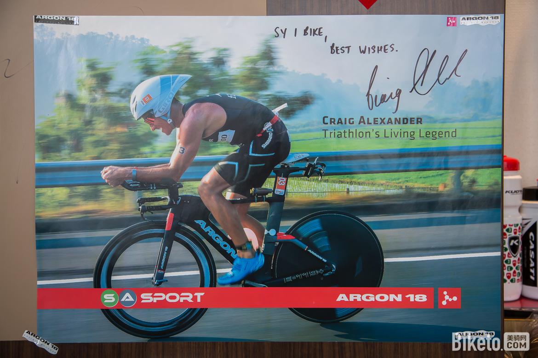 Craig Alexander是来自澳大利亚的世界顶级铁人三项职业运动员