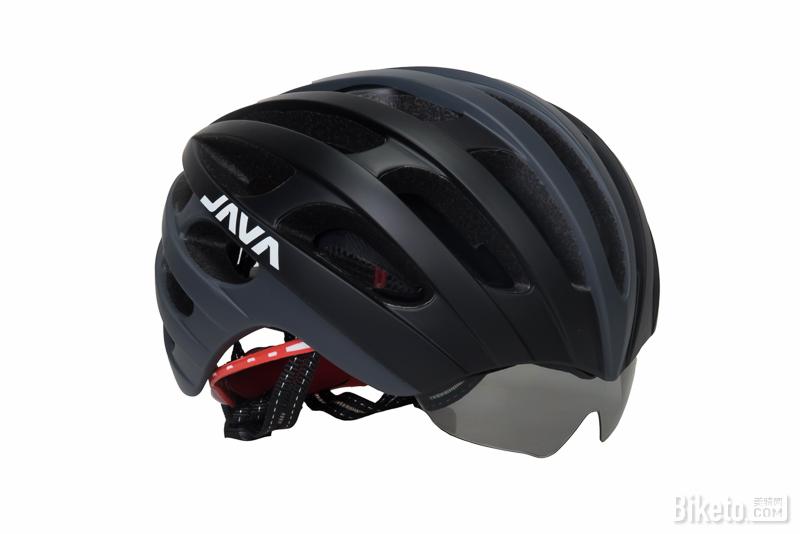 JAVA骑行头盔(配有两种风镜)
