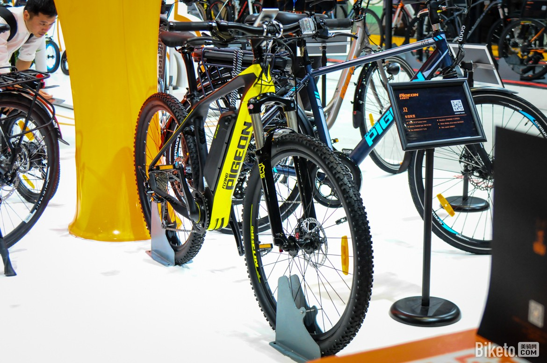 飞鸽也涉足电助力运动自行车领域
