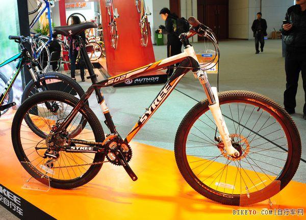 天津展上的赛克自行车