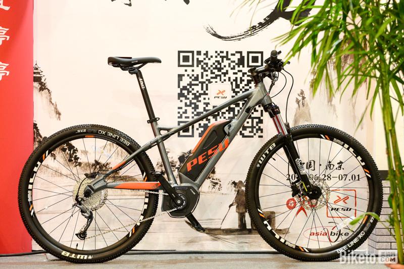 倍速出行PESU,电助力自行车,E-bike,电助力山地车,电动城市通勤自行车