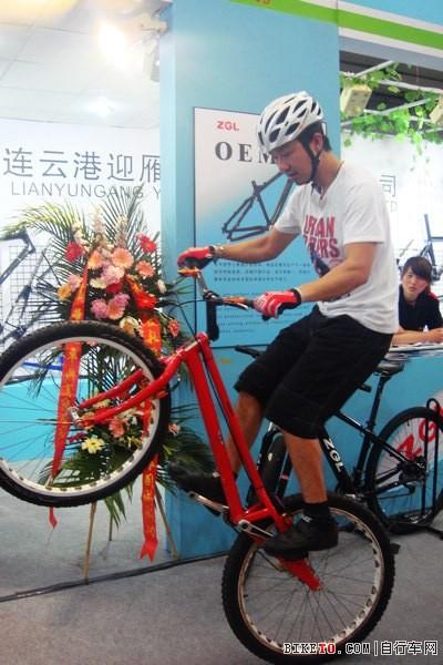 中国障碍自行车攀爬运动总教练