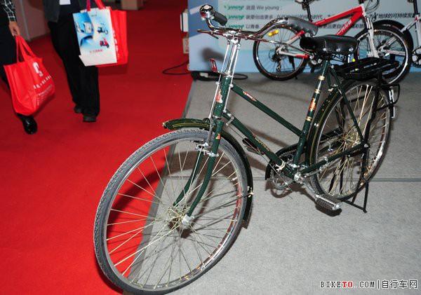本土老牌五羊亮相 2012广州自行车电动车展览会琶洲
