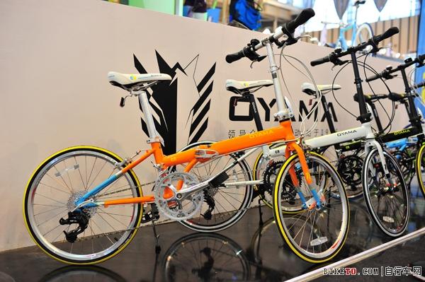 无时尚不运动 OYAMA带来时尚单车