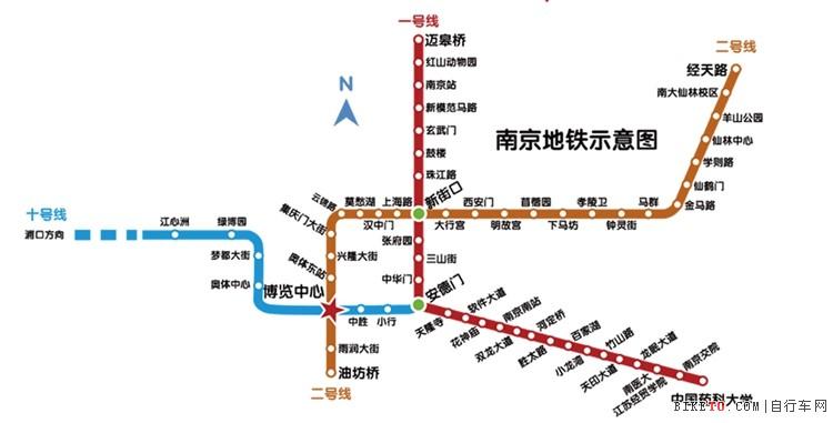 南京有南京火车站和南京南站.