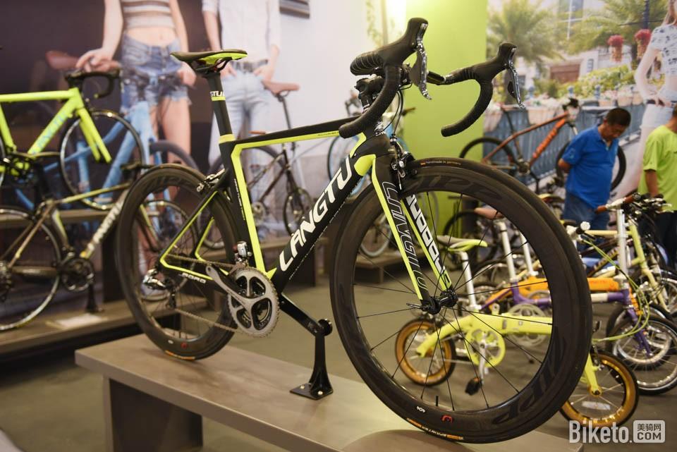 还是有看头:北京国际自行车博览会首日