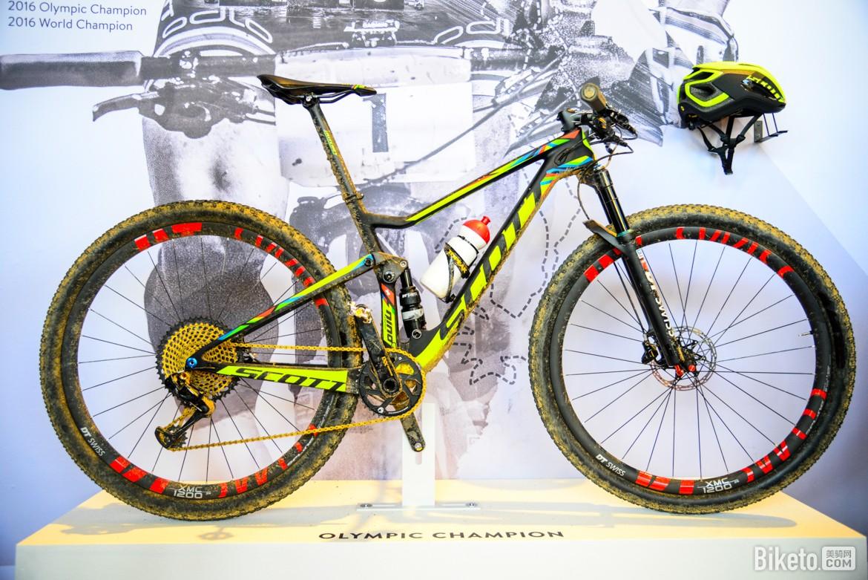 欧洲自行车展高颜值自行车