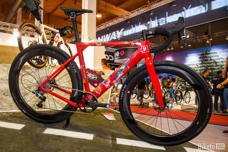 欧洲自行车展美腻自行车