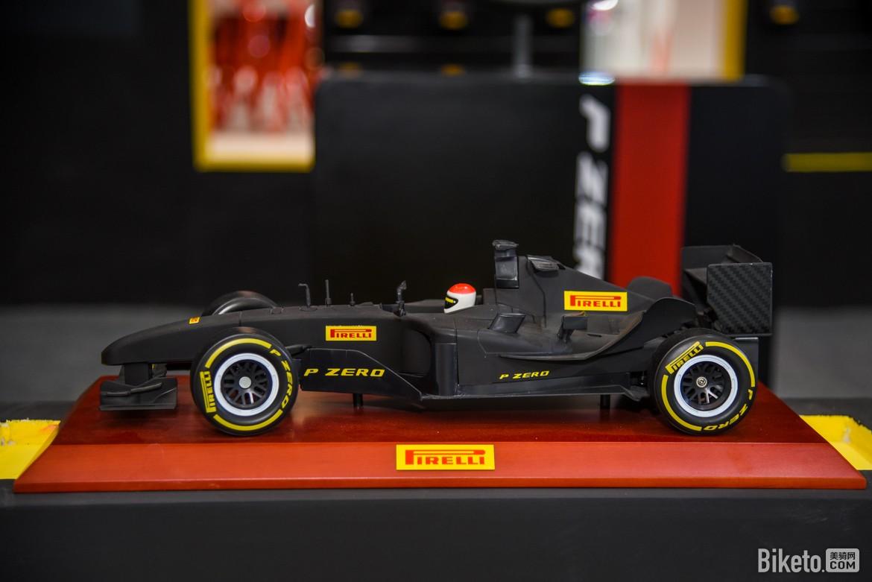 倍耐力F1赛车模型