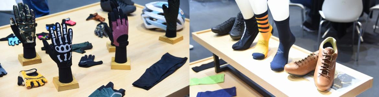 思帕克展位展示了最新款的骑行装备,你所熟知的骷髅手套也有所更新.jpg