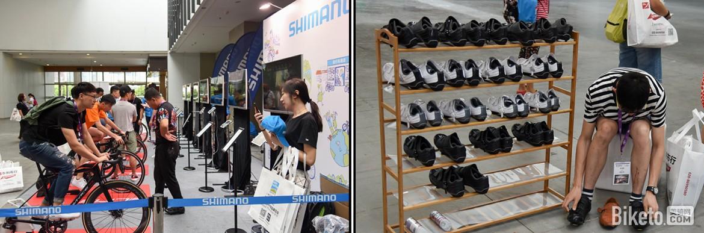 亚洲展Shimano