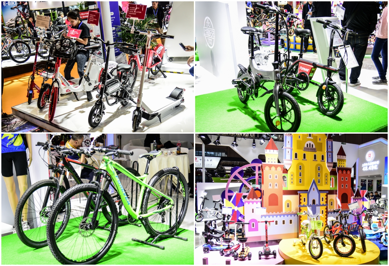 永久的产品线非常齐全,从儿童车、传统的公路车、山地车到现在符合新国标的电助力自行车都有涉及.jpg