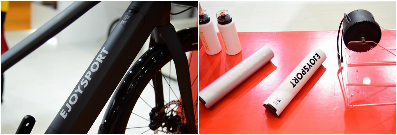 易骑电助力咨自行车的电池安装在下管上方,整体造型十分圆润.jpg