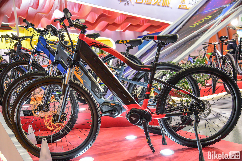 主攻外销的VIVA在本次展会也带来了时下国外流行的电助力自行车.jpg