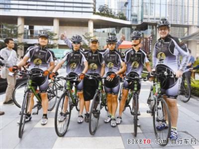 6勇士为爱骑行2000公里