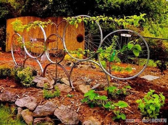废物利用:自行车零件的艺术(上)