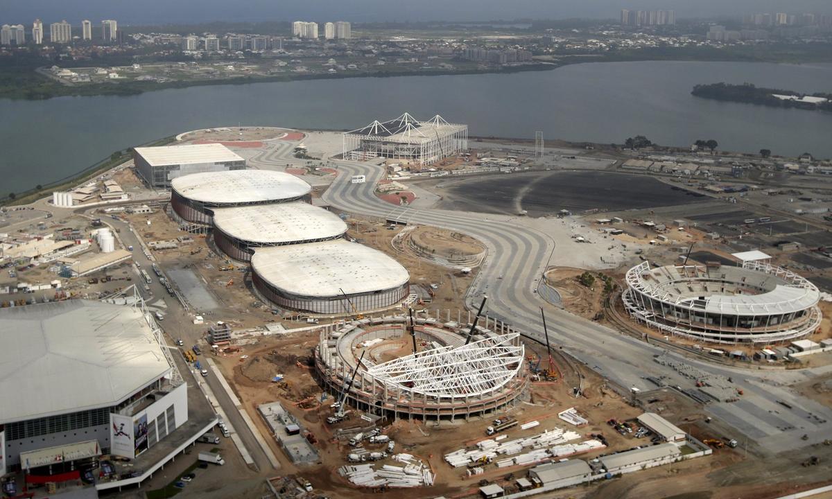 里约奥运会自行车场馆