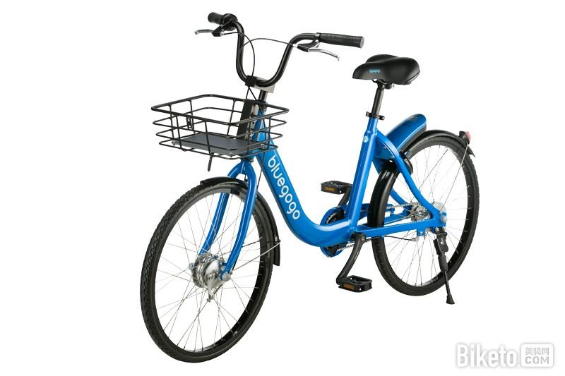 共享單車里的野獸 bluegogo野心不小