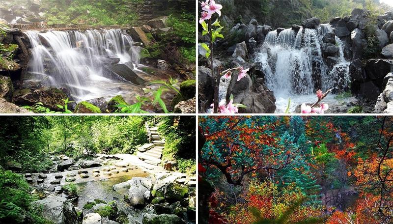 是全国最大的森林公园——威虎山国家森林公园的核心景区.