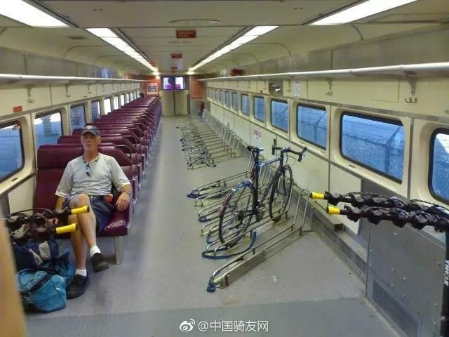 自行车上火车