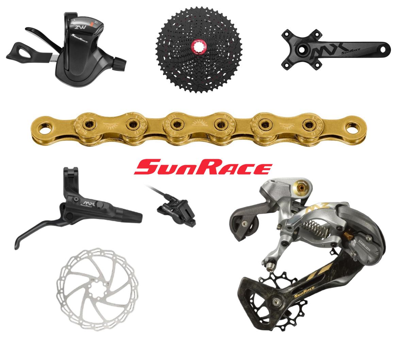 SunRace 12速套件,山地车