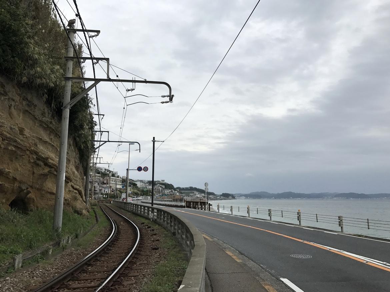 江之电与大海
