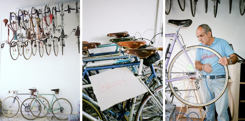 复古,自行车,Brooks,钢架